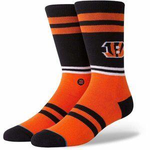 STANCE Cincinnati Bengals Logo Socks Men's Size L